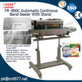 Sigillatore continuo automatico della fascia con il basamento per sciampo (FR-900C)