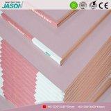Cartón yeso decorativo de la mampostería seca del material de construcción/Fireshield Plasterboard-10mm