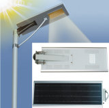 1개의 LED 태양 가로등 방수 통합 태양 도로 램프에서 고성능 50W 전부