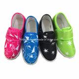 Les enfants Casual Sneaker chaussures chaussures en toile de bandes de Magic (ZL1216-2)