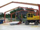 Rápido ensamblar el edificio de la estructura de acero