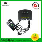 Helles Solarsystem mit 2 Lights&Phone Aufladeeinheits-Solarinstallationssatz (PS-K013N)