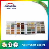 Catálogo de tarjeta de papel especial del color de la textura