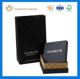 Rectángulo de regalo de empaquetado de papel de los productos de la marca de fábrica de la alta calidad (fábrica grande de China)
