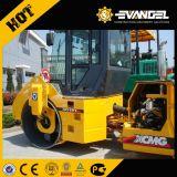 Xd122e 12 toneladas de la carretera de doble rodillo compactador de volante de dirección de la vibración