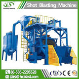 SGS를 가진 Qgn Series Steel Crawler Type Shot Blasting Machine