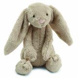 Giocattolo lungo della peluche del coniglio di coniglietto di pasqua dell'orecchio