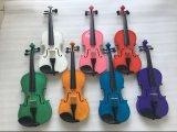 卸し売り安い価格のピンクの合板学生のバイオリン