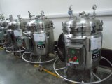 高品質の機密保護の食品等級のステンレス鋼の磨かれた移動可能な混合タンク