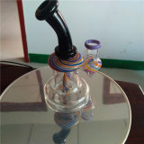 Tubo di acqua di fumo di vetro saltato mano all'ingrosso del riciclatore del Borosilicate
