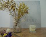 Vela de vidro da cera da soja do copo com empacotamento bonito