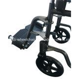 Poids léger, manuel, acier, fauteuil roulant bon marché et fonctionnel