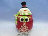 Забавные Санта конфеты Jar для рождественские украшения