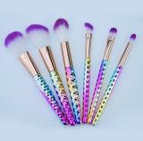 6 parti compongono l'insieme di spazzola per il fondamento per arrossire spazzola cosmetica di trucco del favo della spazzola della polvere della spazzola del fondamento dello strumento di trucco di Concealer