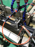 실리콘고무 TPU PU Tep TPV TPR 플라스틱 단면도 밀봉 지구 단일 나사 압출기