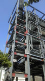 Hoher Anstieg-Stahlkonstruktion-Hochbau mit Stahlfußboden-Plattform