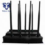 8 Regelbare banden Al 3G 4G GPS WiFi Lojack van het Signaal van de Telefoon van de Cel Stoorzender (Europese Versie)