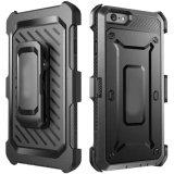 Etui robuste Full-Body avec clip de ceinture de cas de Téléphone pour iPhone 6S/7