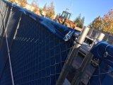 USA vermarkten den galvanisierten entfernbaren Temp, der einzäunt Panels mit Farbton-Netz (XMR77)
