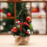 Arbre de Noël de Tableau de petit pin d'année neuve mini