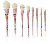 Новый стиль 8 Diamond Crystal сделать щеткой, акрил, щетка для макияжа и цвет макияжа костюм щетки вращающегося пылесборника