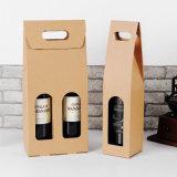 Sacco di carta di alta qualità di lusso su ordinazione per la bottiglia