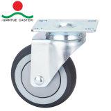 Erstklassige mittlere Aufgaben-Fußrolle, TPR Bremsen-Fußrolle