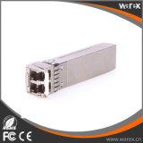 10G 1550nm 80km SFP+ optische Lautsprecherempfänger 10G SFP+ ZR Cisco-Kompatibilität