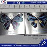 Mopa MetalliPhone Fall-Farben-Firmenzeichen-Markierungs-Laser-Markierungs-Maschine