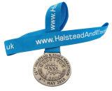 Medaglia corrente personalizzata del metallo di sport del rame dell'argento dell'oro di sport