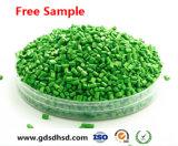 Colore verde Masterbatch per il contenitore cosmetico di plastica della casella