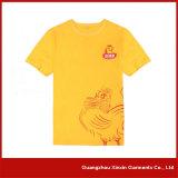 Concevoir le T-shirt en gros chaud d'hommes d'impression d'écran de mode de coton (R01)