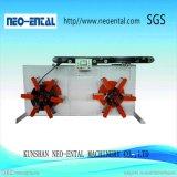 Máquina de enrollamiento doble automática del mecanismo de botes giratorios del tubo de la devanadera