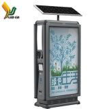 Bulletin de service public du Conseil/l'énergie solaire Poubelle/Affichage LED la Corbeille