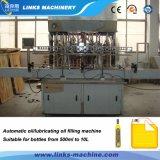 인라인 유량계 통제 기름 충전물 기계