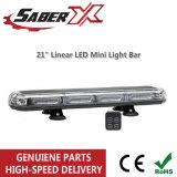 """Top Quality Micro 21"""" Mini Barra de luz LED linear para o tráfego de carro de polícia"""
