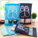 Melhor de alta qualidade o logotipo personalizado da sapata de Viagem Organizador de saco impermeável