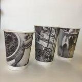Commerce de gros prix promotionnels tasse de café en papier double paroi