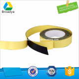 Base de disolvente a doble cara cinta adhesiva de espuma EVA (ES10)