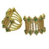 [غود قوليتي] نمو مجوهرات نوع ذهب فضة [روس] يصفّى مجوهرات لأنّ إمرأة 925 [سترلينغ سلفر] حلق قابل للتعديل ([ر10993])