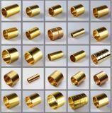 Ajustage de précision en laiton de rotation d'en cuivre de pièce en métal de coussinet de précision