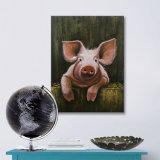 حيوانيّ نوع خيش فنّ لون قرنفل خنزير [أيل بينتينغ] مزرعة [أرت كلّكأيشن]