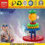 La plastica creativa sveglia popolare 2017 di disegno di Thinkertoy gioca i capretti educativi