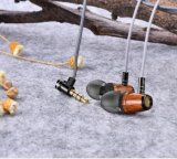 Глубокие басы Hi-Fi наушники-вкладыши деревянных Handfree Huanghauli для телефона