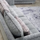 O projeto moderno personaliza o sofá secional para a mobília Fb1115 da sala de visitas