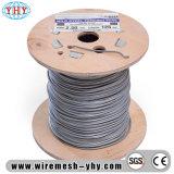 Fil de bobine recuit noir galvanisé l'utilisation flexible