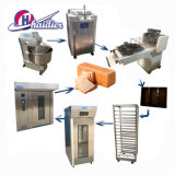 Bäckerei-Geräten-Elektrizitäts-französisches Brot-Ofen-Stangenbrot-Backen-Tellersegment-/Frozen-Stangenbrot-Produktionszweig