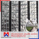 A classificação de sombreamento de 80% Clima Cortina de alumínio Sombra Net