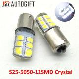 P21W Baie Ba15s15D 12LED feux cristal matériau en silicone de lampes de frein de stationnement