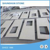 Countertop камня кварца высокого качества белый для кухни